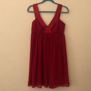 London Times Red Dress